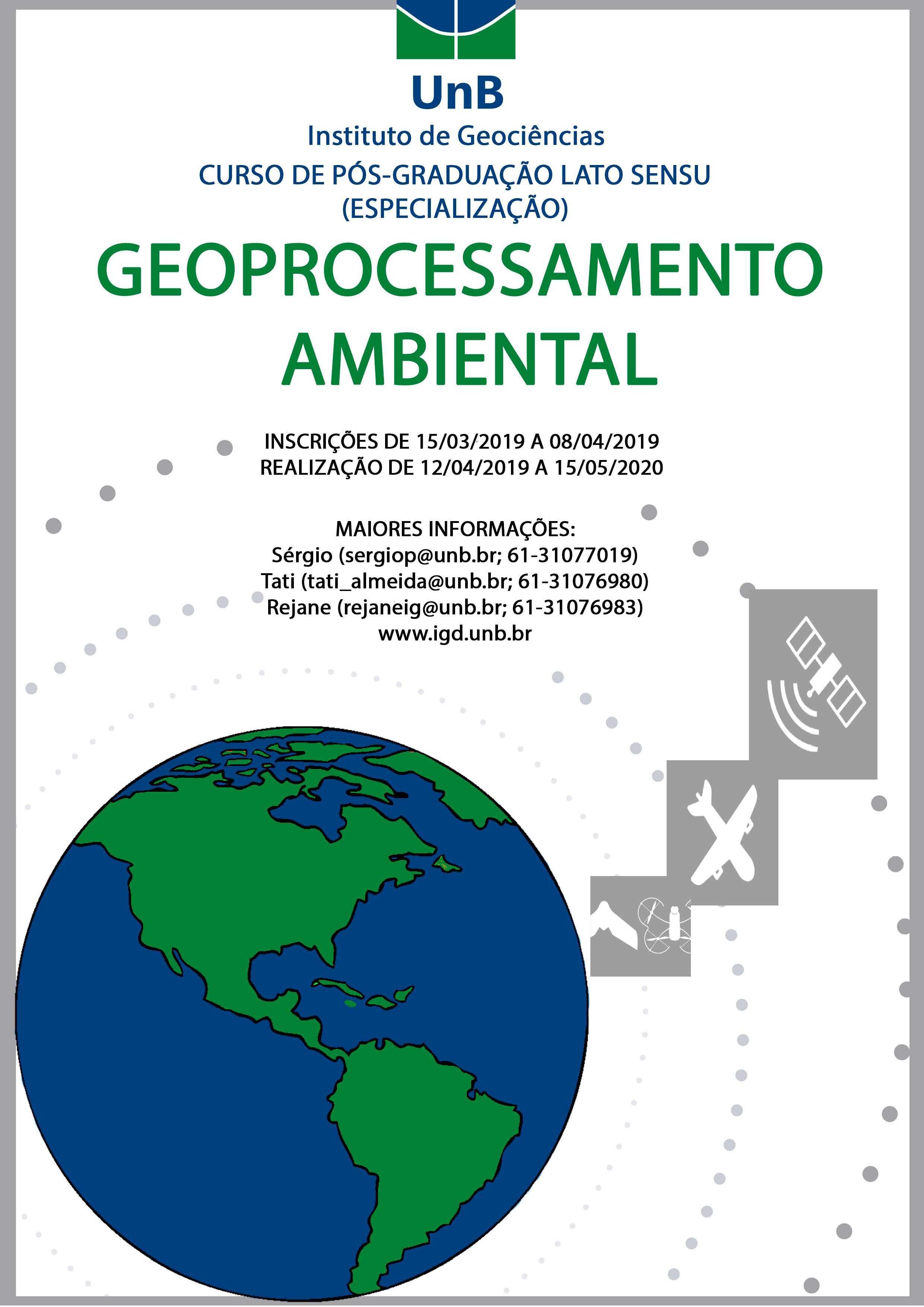 Banner Geoprocessamento